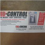 Pro Control Recessed Foot Control Tray